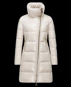 Achetez Manteau Moncler femme JOINVILLE veste longue imperméable col ivo pas cher