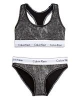 Calvin Klein Underwear Modern Cotton Bralette and Bikini Gift Set #QSET001
