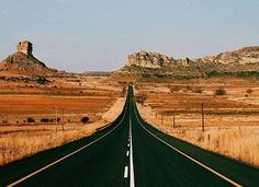 That road between Clarens and Fouriesburg in the Free State. Photo by Free State, Monument Valley, South Africa, Road Trip, Places, Instagram Posts, Nature, Travel, Beautiful