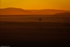 Sunrise Balloon ride over the plains of Africa
