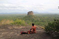 La roca de Sigiriya desde Pidurangala