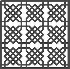 Geometric Lattice (Style 2) - 12x12