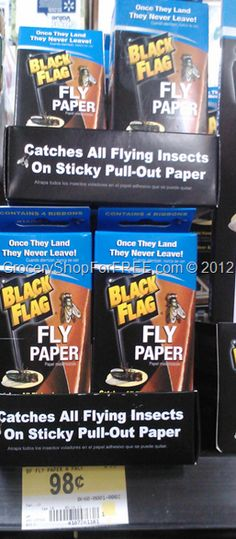 Black Flag Fly Paper FREE Plus Overage At Walmart!