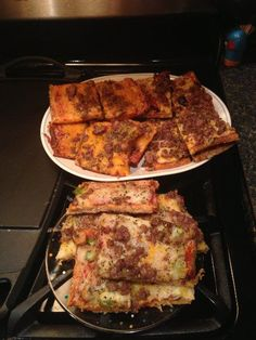 Fat Head » Weekend Bonus: The Older Brother's Oldest Son's Faux Carb Pizza