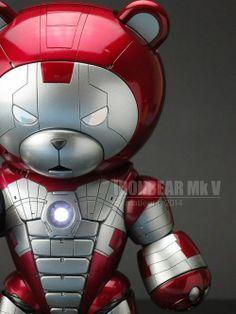 sekisyu: 胸元のアーク・リアクターも再現。ベアッガイさんをアイアンマンに改造してみた : コタク・ジャパン