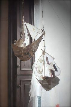 Dreamy Gentleman's Ship by Ann Wood #OKLartisanal