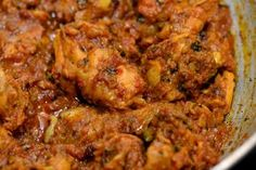 """Here is a great recipe for a dry chicken curry – called """"chicken sukha"""". The texture of this curry is wonderful and it goes really well with rice or rotis."""