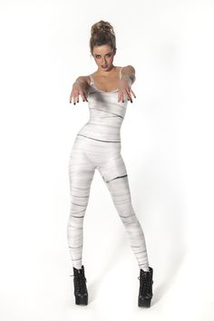 Mummy Catsuit by Black Milk Clothing