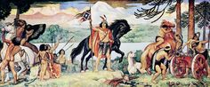 "ON THIS DAY IN HISTORY – On 23rd February, 1554 AD, Mapuche forces, under the leadership of Lautaro, scored a victory over the Spanish at the Battle of Marihueñu in Chile. Lautaro (""swift hawk"") was the young military commander of the Mapuche, the indigenous inhabitants of south-central Chile and south-western Argentina, in the four-year Araucanian War in Chile. His people undertook to expel the Spanish colonizers."