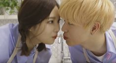 BTOB's Sungjae and Red Velvet's Joy film an adorable MV on 'We Got Married'