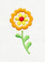 Folklorico - Little Flor design (UT8463) from UrbanThreads.com