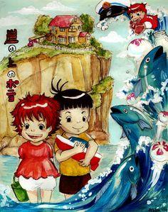 Gake no Ue no Ponyo by Matsushige.deviantart.com on @deviantART