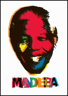 Madiba poster. BelAfrique your personal travel planner - www.BelAfrique.com