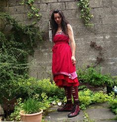 Red Dress. Highland Fairy.