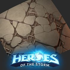 Some terrain stuff I made on the starcraft maps for heroes of the storm Terrain Texture, Heroes Of The Storm, Game Assets, Starcraft, Zbrush, Wood Boards, Artwork, Maps, Modeling