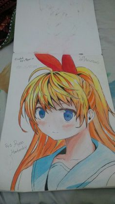 Chitoge drawing