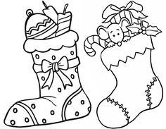 Resultado de imagen de dibujos navidad colorear