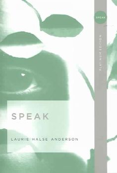 SPEAK This is such an awesome, inspirational and eye opening book