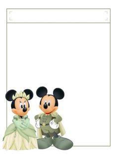 Mickey and Minnie Disney Crafts, Disney Art, Disney Stuff, Walt Disney, Tiana, Disney Scrapbook, Scrapbook Cards, Mickey Mouse And Friends, Minnie Mouse