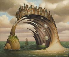 The Fantasy Worlds of Jacek Yerka - Amazing Incredible!