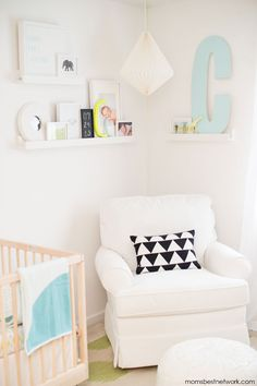 Mom's Best Network: Shannon Rehlinger and Baby Connor's nursery reveal…Destination Nursery #kidsroommakeover winner #1 - Our Hold Me Tight blanket!