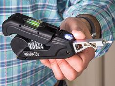 For BOYS!  Kelvin 23 Urban Multi Tool: All in one Screwdriver, Hammer, Level, Tape Measure and Light