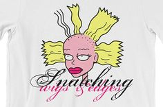 Snatched Cynthia Tee rugrats tommy chuckie phil lil susie dil wigs edges spike reptar nickelodeon snatch by Nube Tees www.nubetees.com