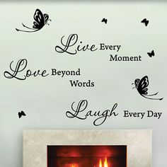Wall Decals Quotes | Home, Furniture & DIY > DIY Materials > Wallpaper & Wall Coverings