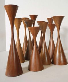 Collection of Rude Osolnik Candlesticks