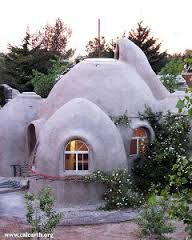 Earth bag house