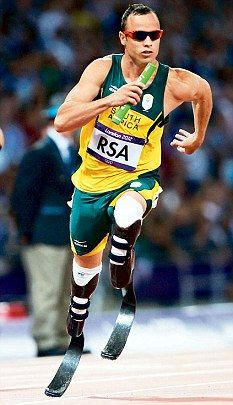 Oscar Pistorius is a multiple world record holder on the track - An absolute inspiration
