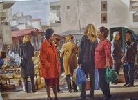 Γ' Λαϊκή Αγορά - Αρχική Painting, Art, Art Background, Painting Art, Kunst, Paintings, Performing Arts, Painted Canvas, Drawings
