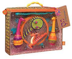 Zestaw instrumentów afrykańskich - Jungle Jingles B. Toys