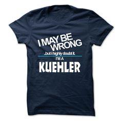(Tshirt Amazing Sell) KUEHLER Teeshirt Online Hoodies, Funny Tee Shirts