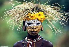 Surma and Mursi tribes of East Africa's Omo Valley