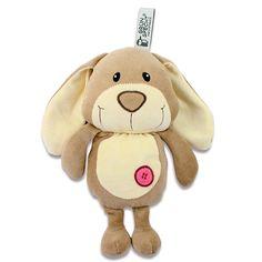 Der süße #Hase ist ideal zum Kuscheln, Einschlafen, Spielen oder zum Trösten: das kleine Wärmekuscheltier Hase Hoppel von Grünspecht begleitet Ihren Schatz sicher durch den Alltag. | Babyartikel.de