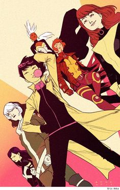Best Art Ever (This Week) - 01.18.13 - X-Men by Kris Anka.      I love this new team already.