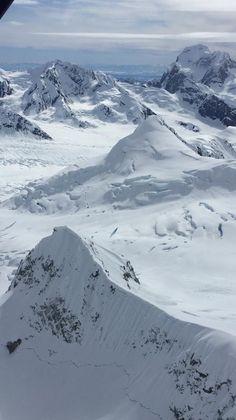 Anchorage, Alaska - 10,000 feet high over Mt. McKinley