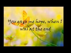You Needed Me -  Anne Murray ( with lyrics ) THIS SONG REACHES INTO THE CORE OF ME! YES, I'M CRYING AS IT PLAYS!