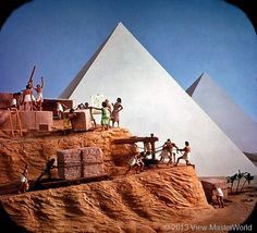 View-Master The Seven Wonders of the World (B901), Scene 1: Pyramids of Egypt