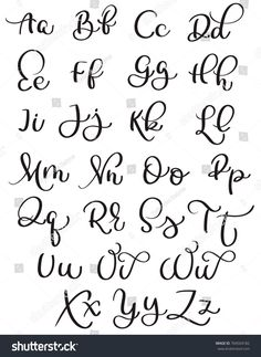 vintage alphabet on white background. Hand drawn Calligraphy lettering Vector illustration vintage alphabet on white background. Hand drawn CalligraphyLetter S print – Alphabet, Calligraphy, Typography,…Letter L print (dark flowers) – Alphabet,… Creative Lettering, Lettering Styles, Brush Lettering, Lettering Tattoo, Lettering Ideas, Letras Cool, Hand Lettering Alphabet, Calligraphy Letters Alphabet, Letter Fonts