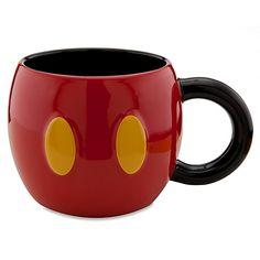 Disney Store 25th Anniversary Mickey Mouse Mug