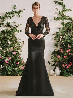The Gothic Diva Black Wedding Dress – Goth Mall Black Satin Dress, Satin Dresses, Bridal Dresses, Bridesmaid Dresses, Satin Skirt, Black Wedding Gowns, Gothic Wedding, Dream Wedding, July Wedding