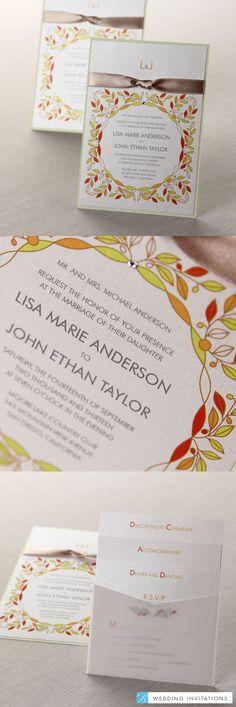 Wild Flower Wreath by B Wedding Invitations  #weddinginvitations  #wedding  #invitations  #bweddinginvitations