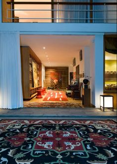 Armando Andrade's house in San Isidro, Lima.
