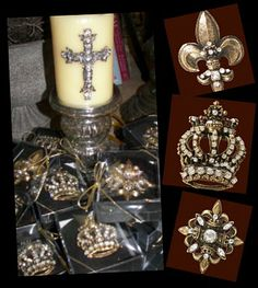 Crosses, Candles and Bling