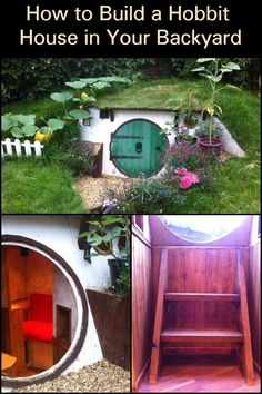 Build a hobbit house in your backyard – DIY projects for everyone! Backyard Projects, Diy Projects, Garden Projects, Bird House Kits, Bird Aviary, Easy Coffee, Tree Crafts, Kit Homes, The Hobbit
