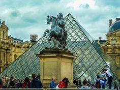 Rain Master – Google+ Louvre, Rain, Building, Google, Travel, Buildings, Viajes, Destinations, Traveling