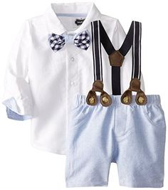 online shopping for Mud Pie Baby Boys' Suspender Short Set from top store. See new offer for Mud Pie Baby Boys' Suspender Short Set Baby Boy Suspenders, Suspenders Outfit, Suspenders Fashion, Toddler Outfits, Baby Boy Outfits, Baby Boys, Infant Boys, Mud Pie Baby, Designer Baby Clothes