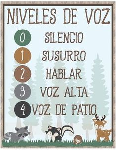 classroom decor Voice Level Poster Italian ~ Take your students on a forest adventure with this woodland themed decor. Print & laminate this cute Woodland themed voice level poster for your classroom. First Grade Classroom, Kindergarten Classroom, Future Classroom, Classroom Themes, Classroom Activities, Classroom Camping Theme, Classroom Behavior, Classroom Organization, Organization Ideas
